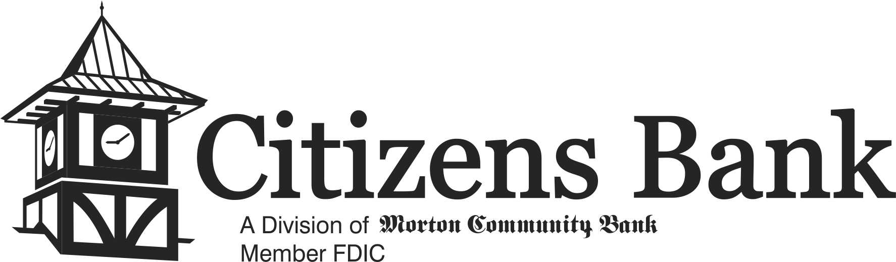 Citizens Bank A Division of Morton Community Bank Member FDIC