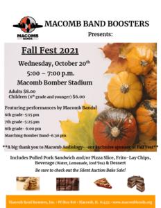 MHS Fall Fest Fundraiser